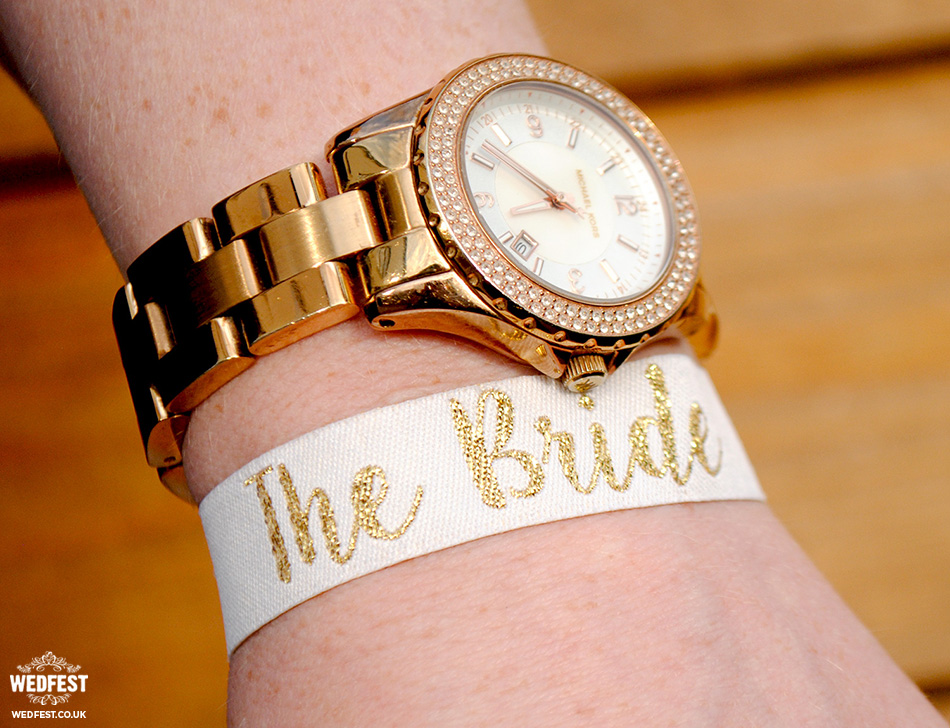 the bride hen party wristband