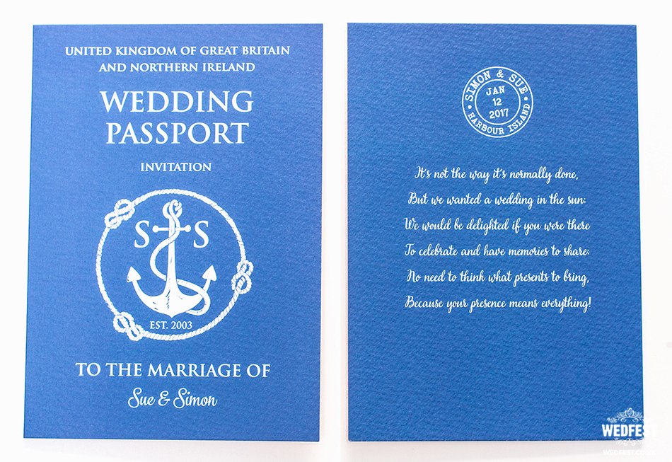 destination wedding invite