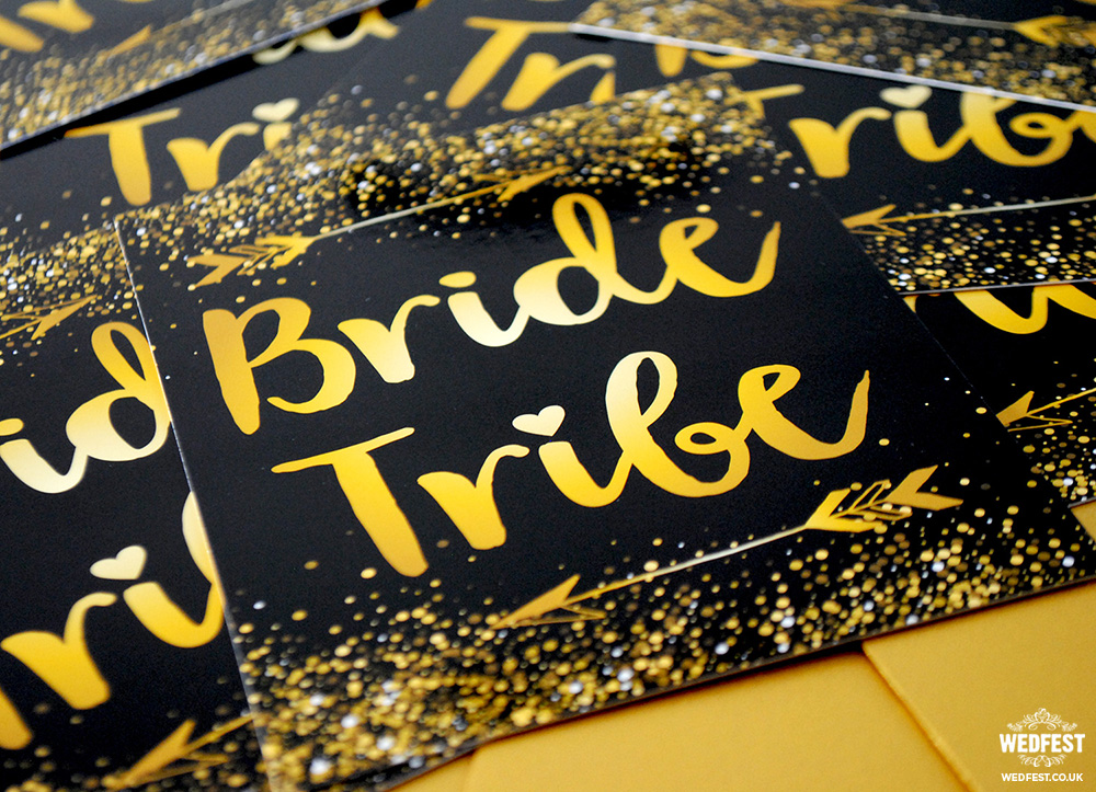 bride tribe hen / bachelorette party invites
