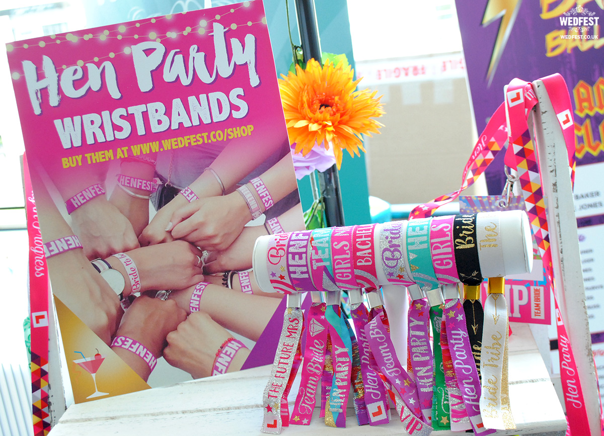 hen party wristband accessories