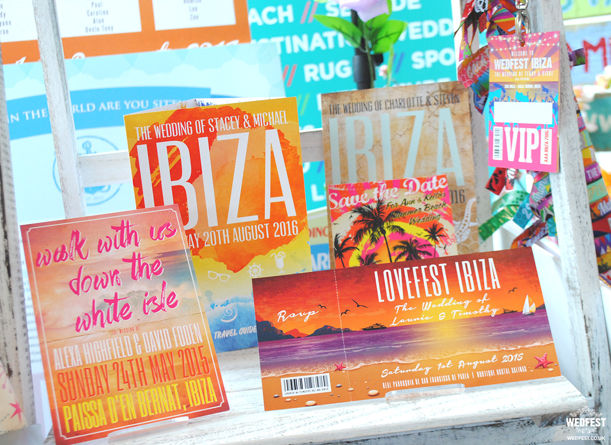ibiza wedding stationery and invitations ideas