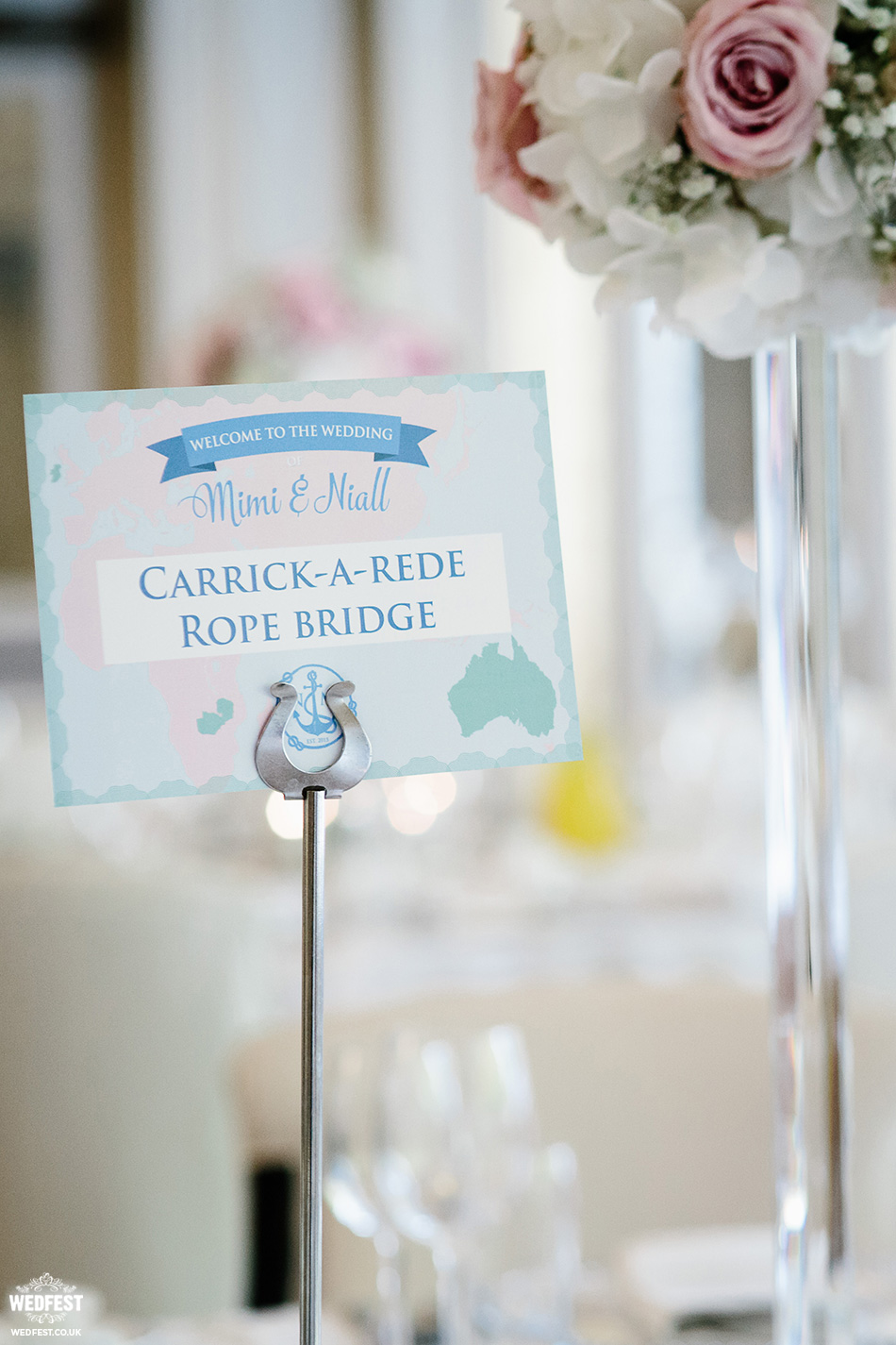 Where in the World are you sitting Wedding Table Plan | WEDFEST