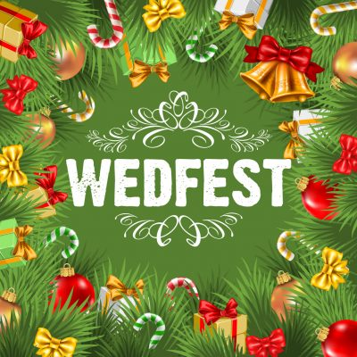 wedfest christmas logo