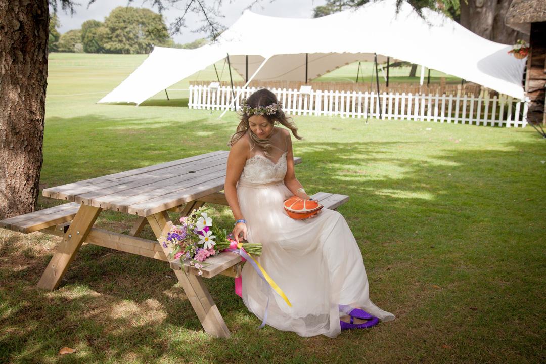 festival bride wristband