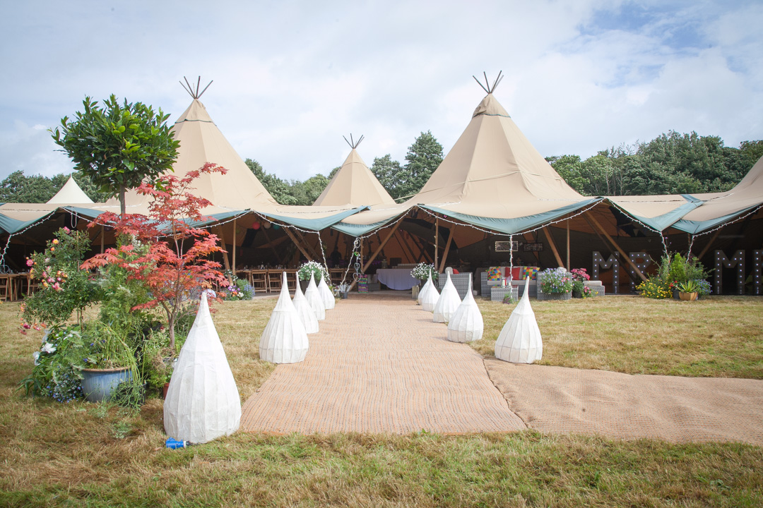 festival tipi weddings