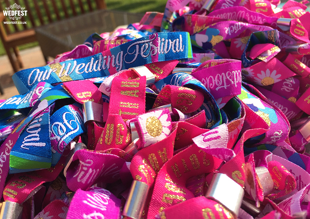 wedding wristbands