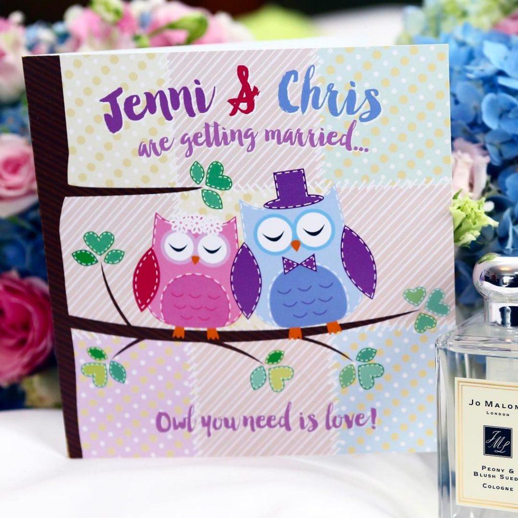 happyvalentinesday from wedfest  owlyouneedislove allforlove allyouneedislove festivalwedding weddingstationery weddinginvitationhellip