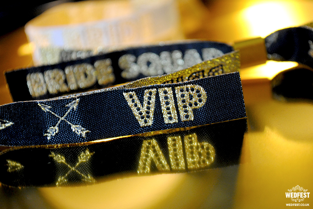 bride squad vip wristbands