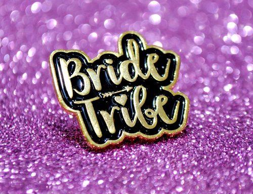 Hen Party Bride Tribe Enamel Pin Badges