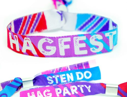 Hag Party Joint Hen & Stag Do Wristbands – Hagfest / Sten Do