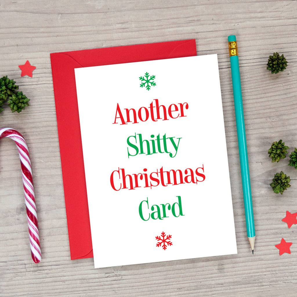 another shitty christmas card