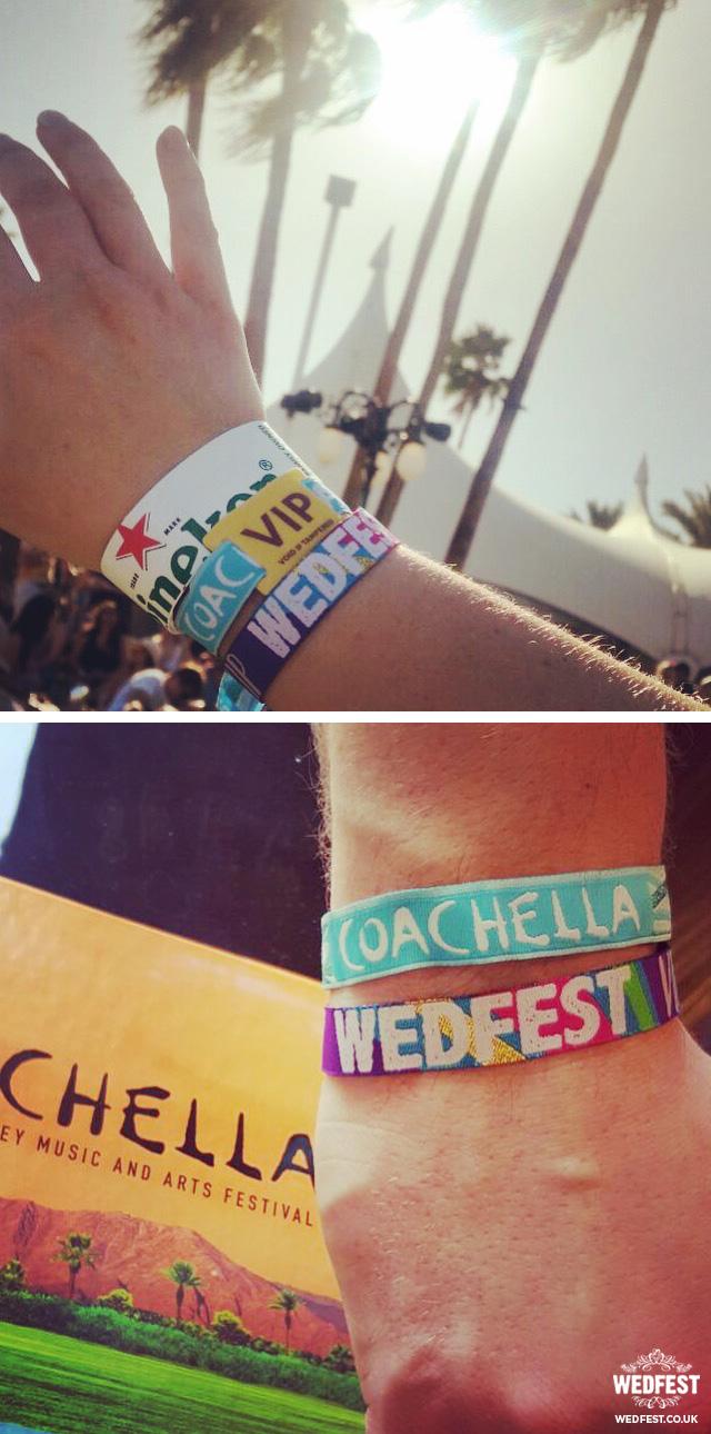 coachella wedfest wristbands