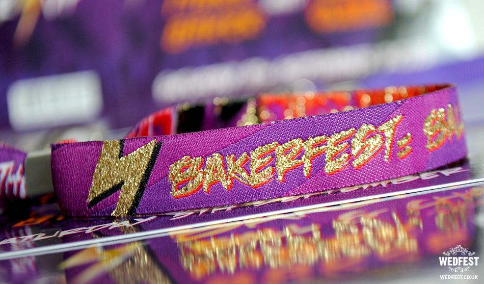 customised wedding wristbands