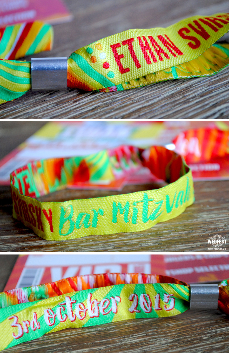 festival and event wristbands