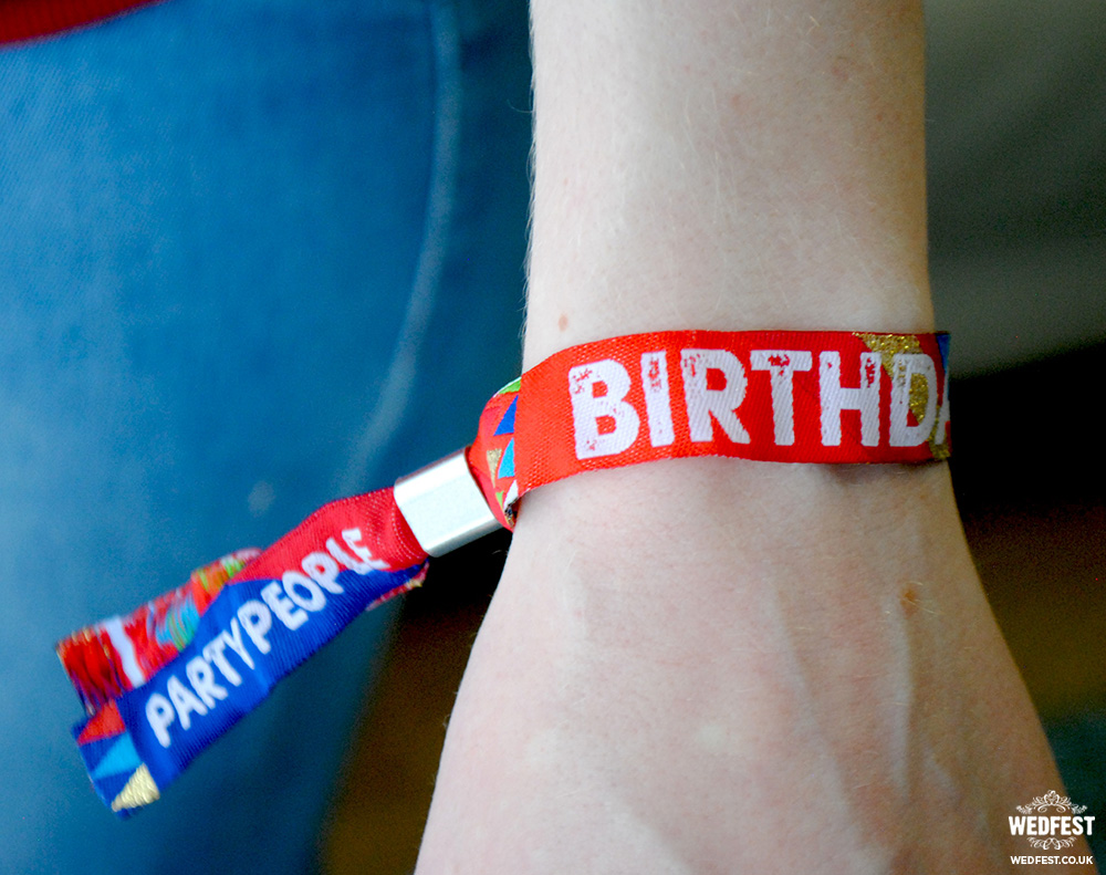 music festival style wristbands