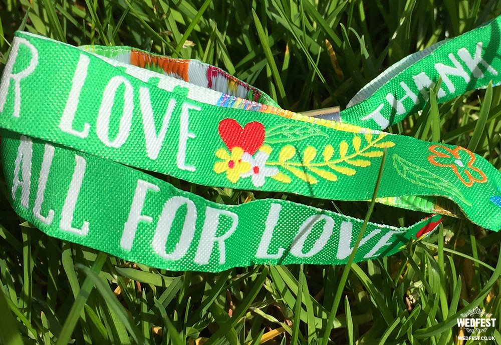 personalised wristbands company
