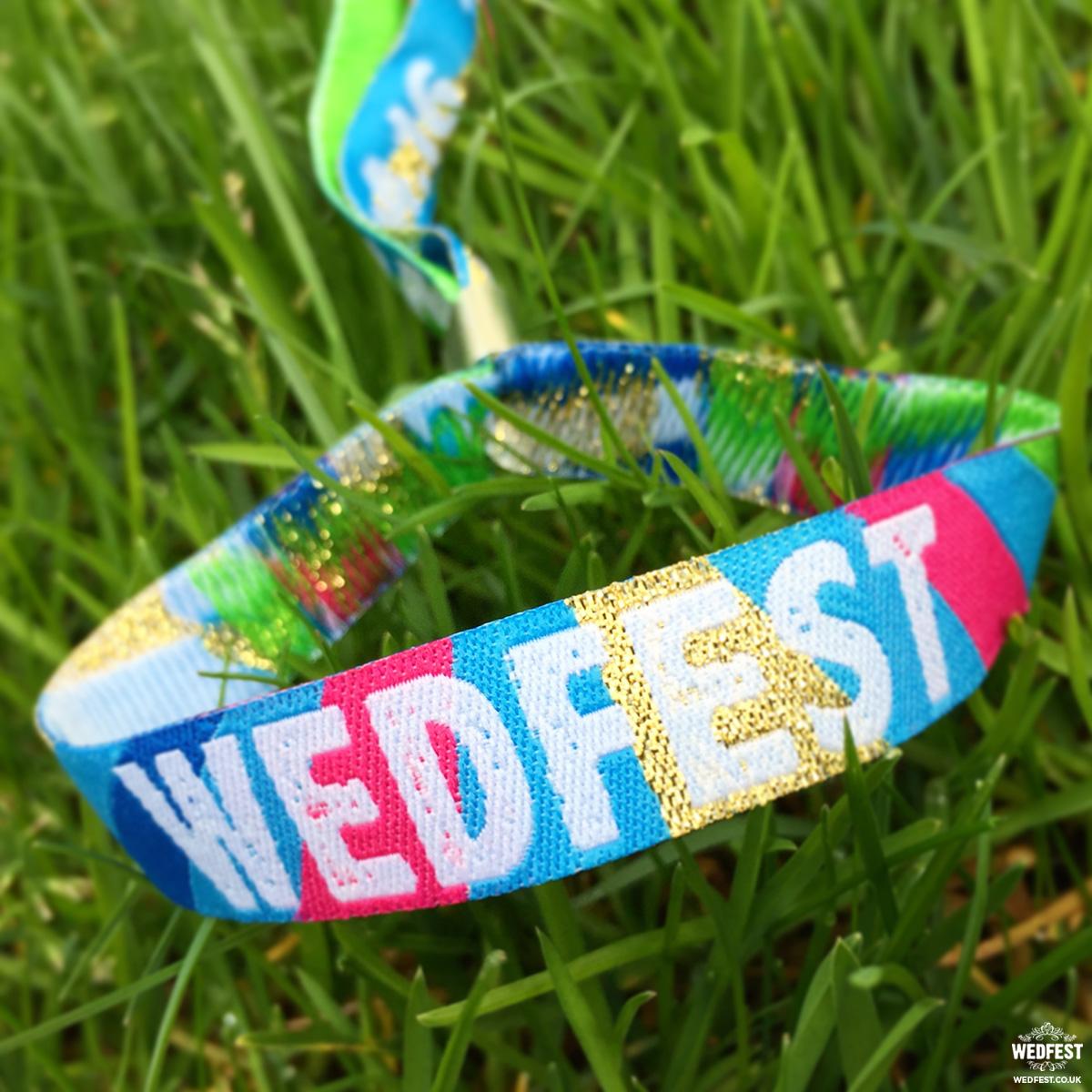 wedfest festival wedding wristbands