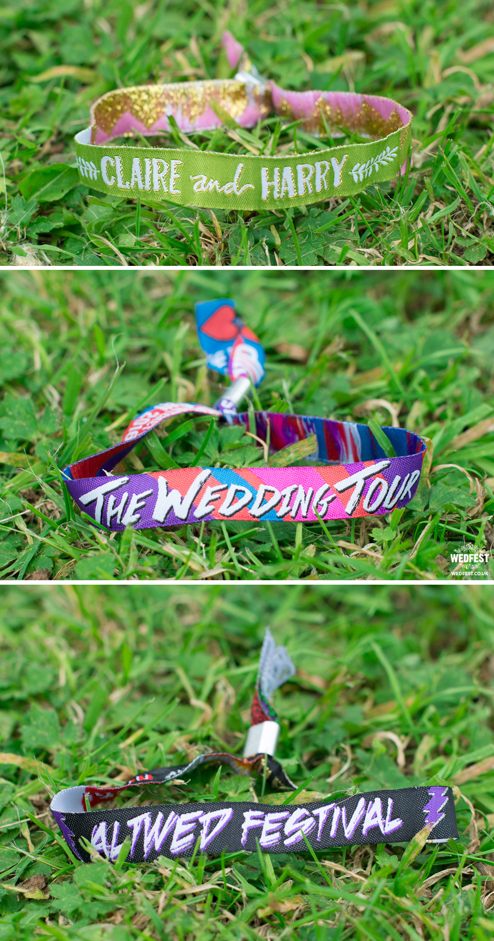wristbands for weddings