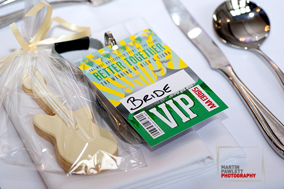 festival wedding vip place cards