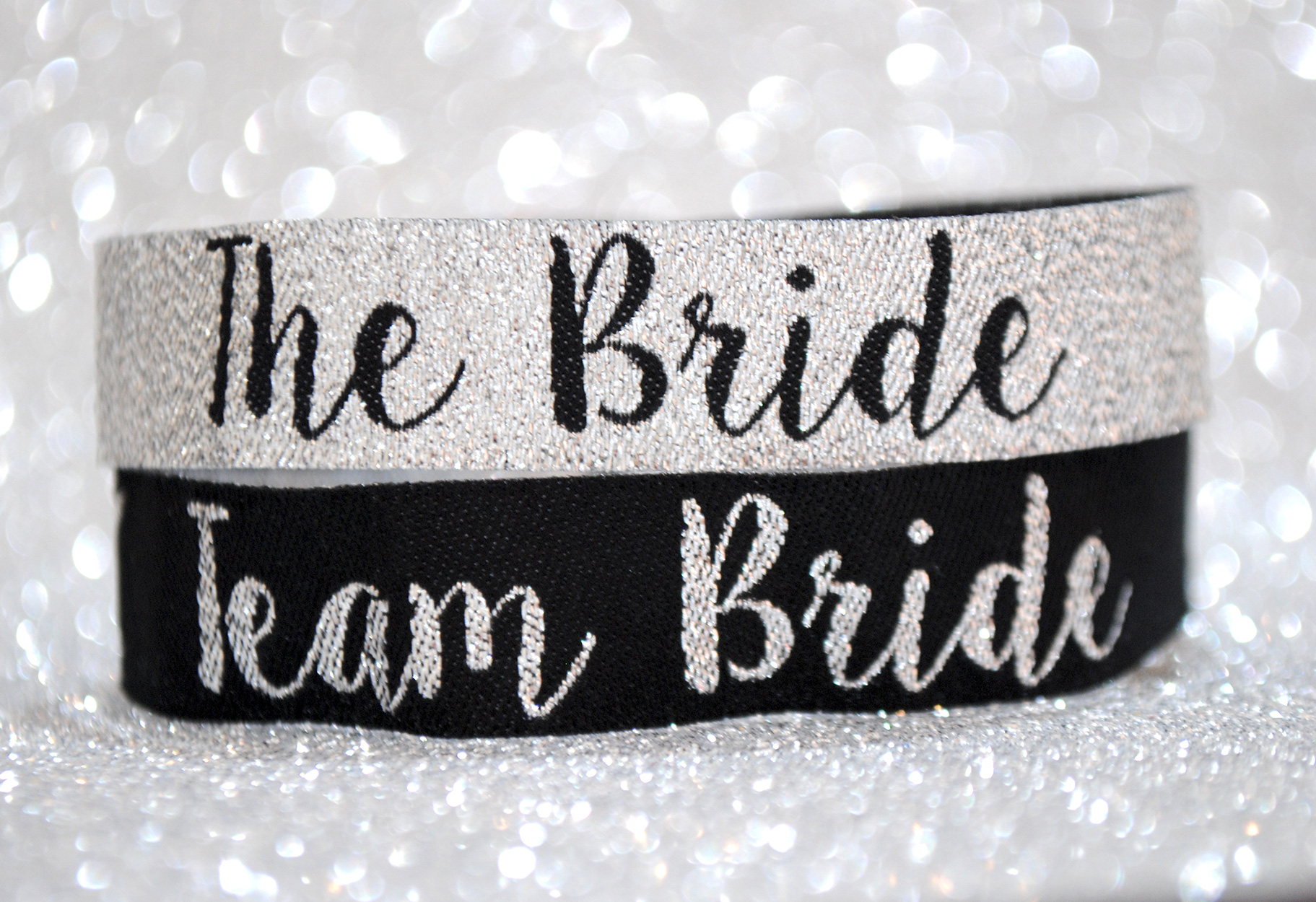 silver team bride hen party wristband classy hen accessories