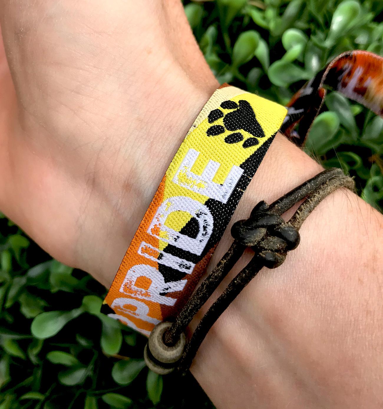gay pride bear pride wristband bracelets