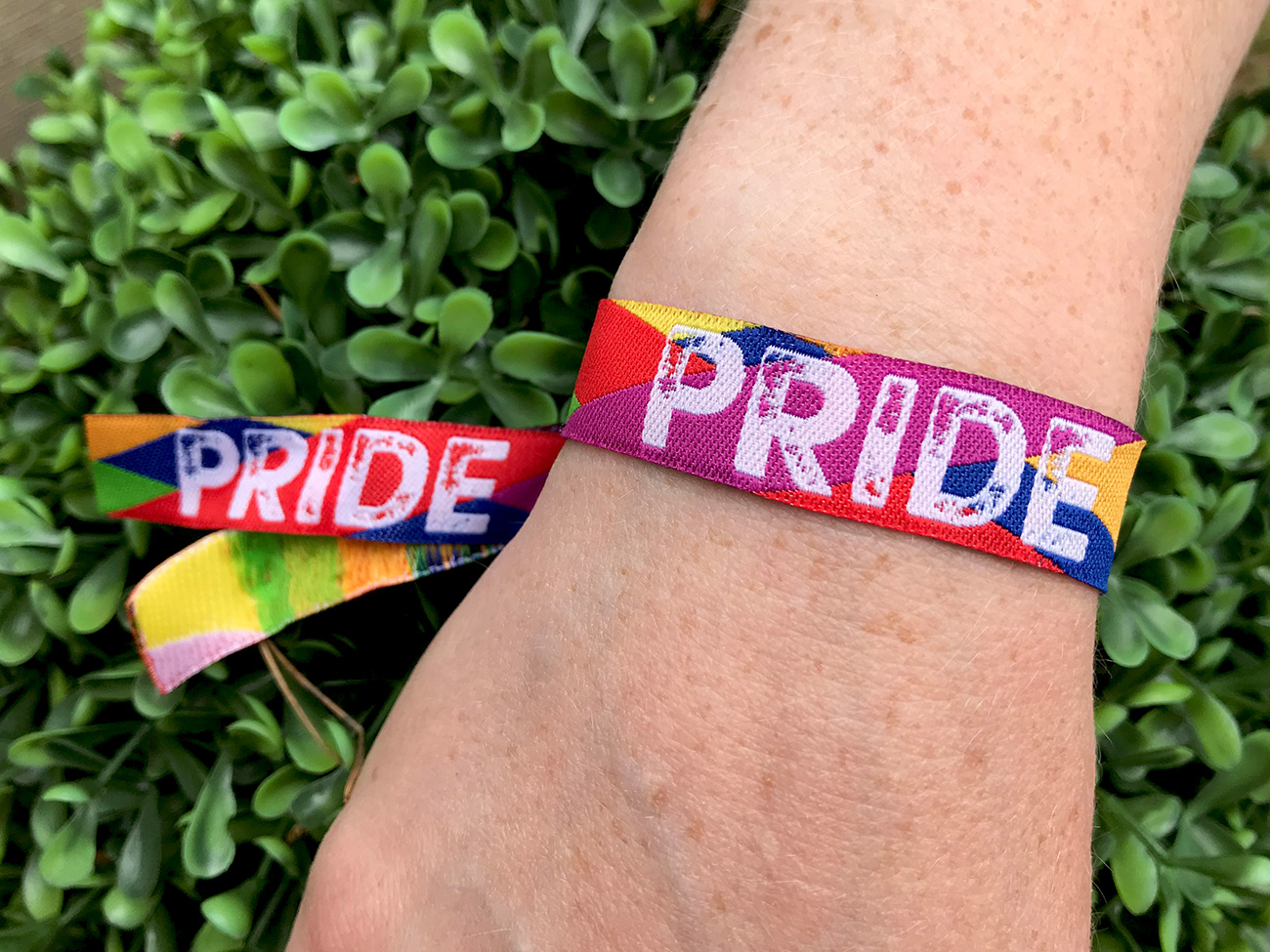 gay pride wristbands