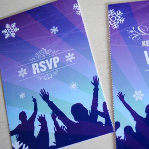 wedfest | wedfestival wedding invitations perforated rsvp tickets