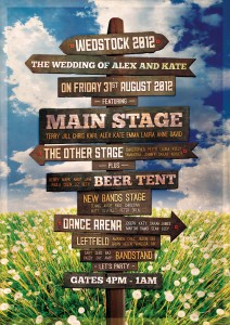 wedfest wedstock wedding seating table plan