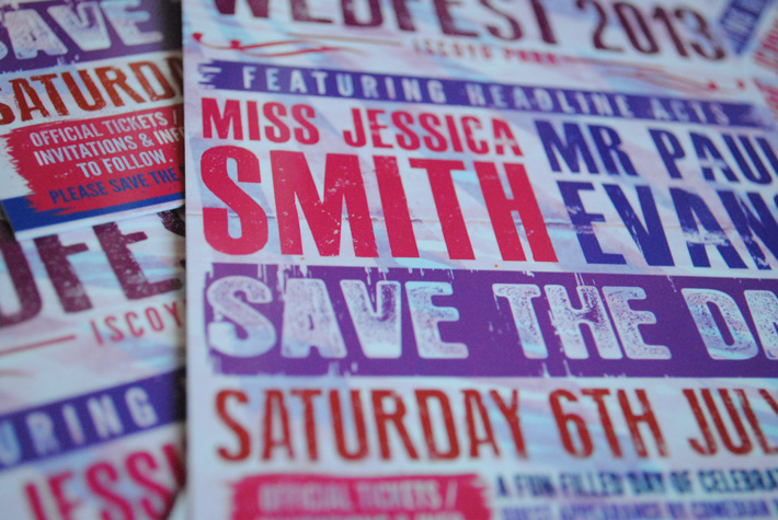 wedding save the date cards | wedfest