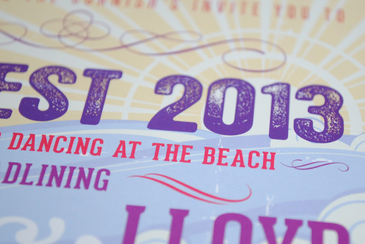 seaside beach wedding invitations