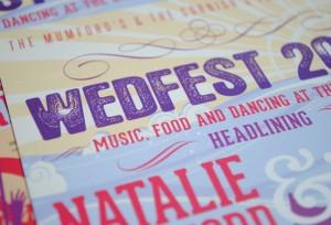 wedfest seaside wedding invites