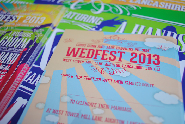 wedfest wedding invites