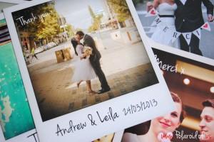 Personalised Polaroid prints