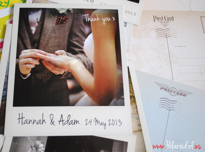 wedding Polaroid prints