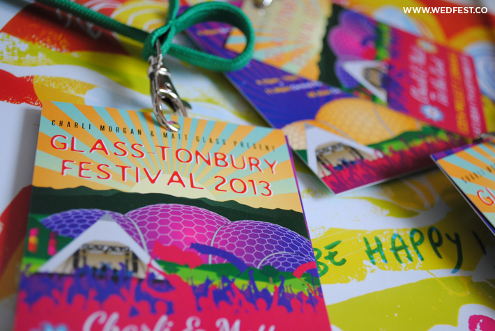 festival wedding lanyards