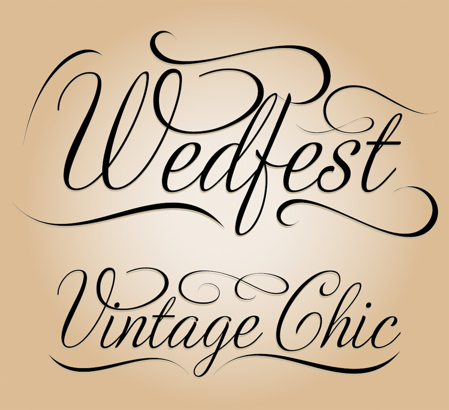 wedfest vintage chic