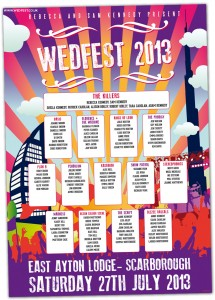 wedfest dubai themed wedding table seating plan