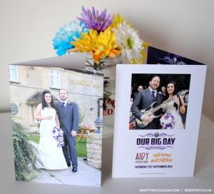 rockers wedding invitations