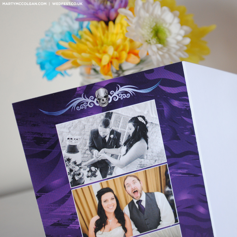rockers wedding thank you cards