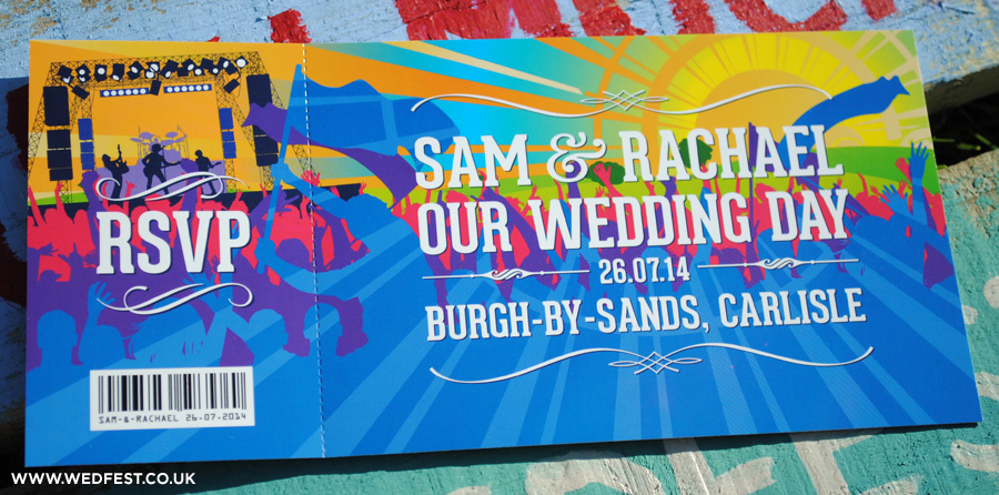 2014 summer wedding invites
