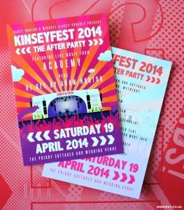 festival wedding poster flyer stationery
