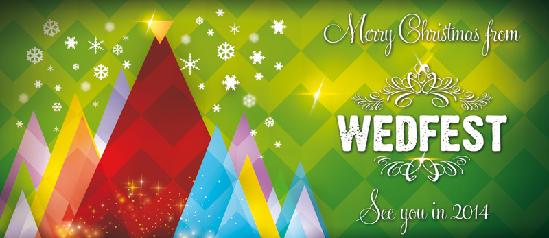 merry christmas from wedfest