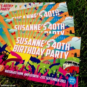 festival themed birthday invitations