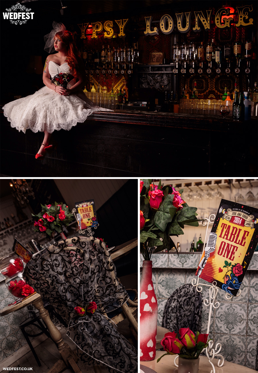 Rockabilly Themed Wedding Stationery Wedfest