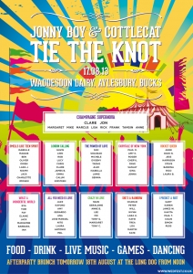 tie the knot festival wedding
