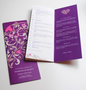 wedding ceremony booklets