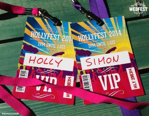birthday party festival vip lanyards
