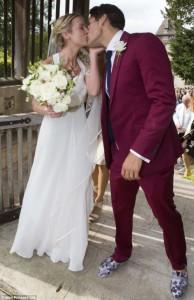 Arabella Llewellyn Thomas burwell wedding