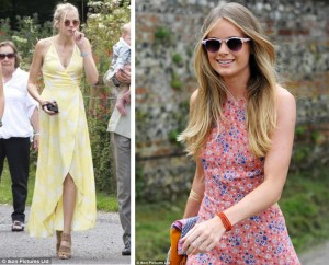 Cressida Bonas, Gabriella Wilde summer wedding