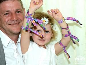 boho wedding wristbands